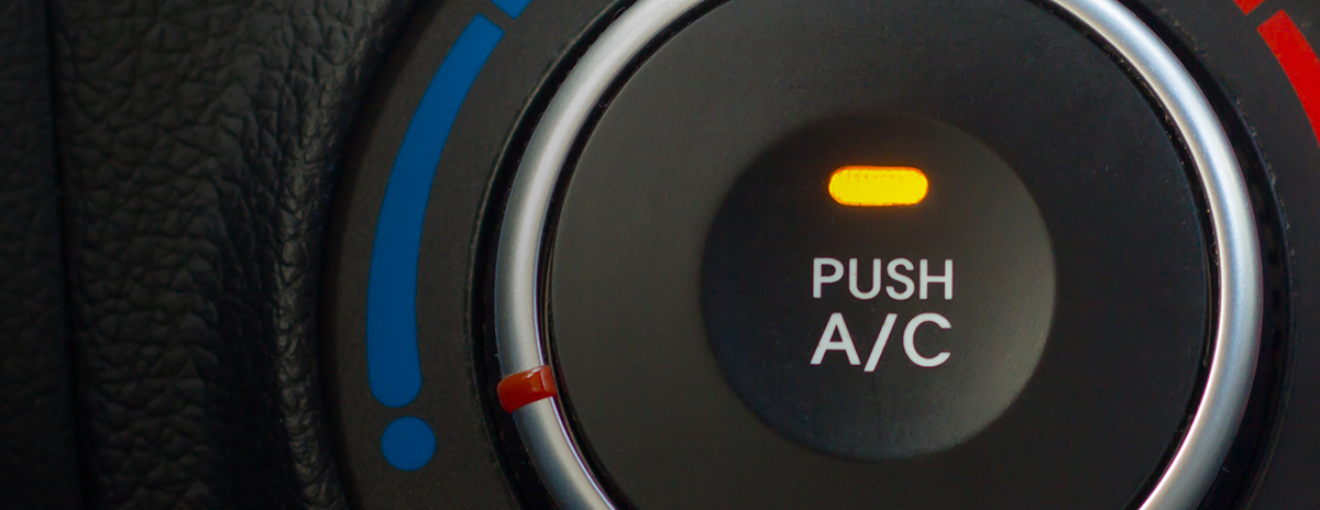 Air con button - Car Repairs Keyworth, Nottingham